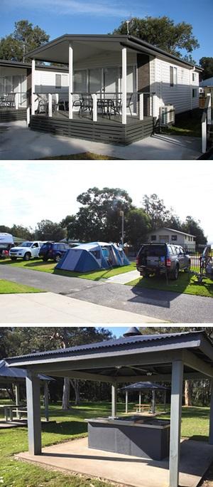 Central Coast Caravan Park Cabins