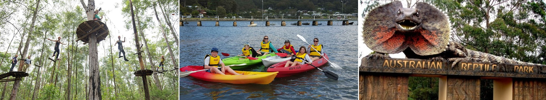 Central Coast Attractions Adventure